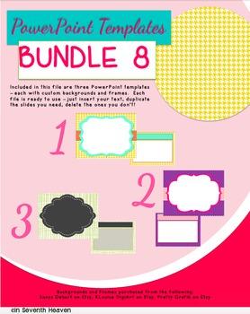 PowerPoint Templates - Bundle #8