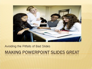 PowerPoint Tips for Great Slides