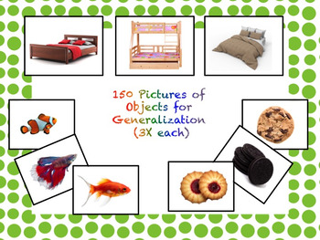 VB Assessment Kit - 150 Objects Generalized - Autism / ABA