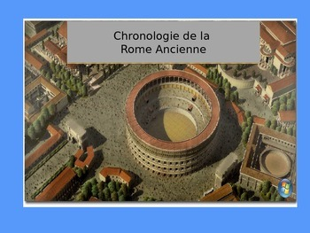 PowerPoint on Ancient Rome history in FRENCH