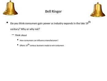 PowerPoint on Industrial Revolution with Robber Barons and