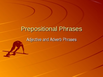PowerPoint on Prepositional Phrases