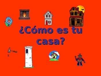 Spanish Teaching Resources. PowerPoint: Adjectives: descri