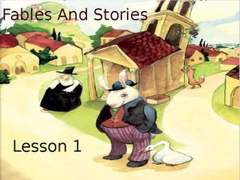 PowerPoints for Engage NY Grade 1 ELA Domain 1 Fables and Stories