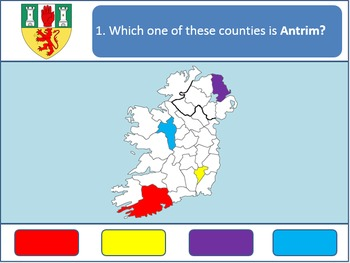 Powerpoint Game: Irish Geography