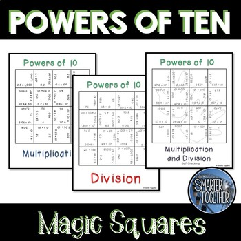 Powers of 10 - Magic Squares