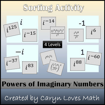 Complex Numbers~Powers of I~Exponents of Imaginary Numbers