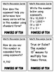 Powers of Ten (Task and Discussion Cards)