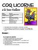 Pâques: À la manière de Jean Dallaire, le coq licorne, art