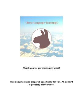 Práctica con el subjuntivo II -Practice with the Present S