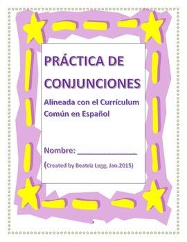 Practica de Conjunciones Alineada con el Curriculum Comun