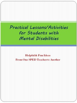 Practical Lessons/Activities for SPED Students