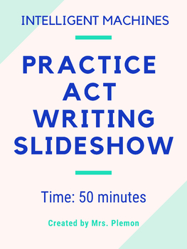 Practice ACT Writing Prompt - Step by Step