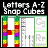Alphabet Activities and Letter Recognition with Snap Cubes