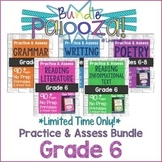 Practice & Assess BUNDLE for GRADE 6 ELA: Reading, Writing
