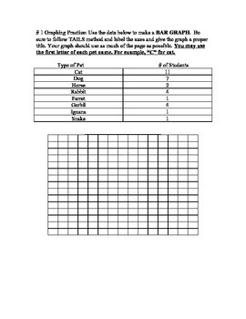 Practice Line and Bar Graph