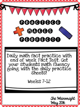 Practice Makes Perfect: Math Fact Fluency #2