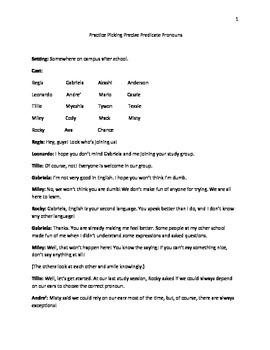 Practice Picking Precise Predicate Pronouns
