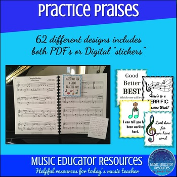 Practice Praises Complete Pack (Music Themed)