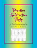 Summative and Practice Subtraction Quizzes Aligned to Common Core