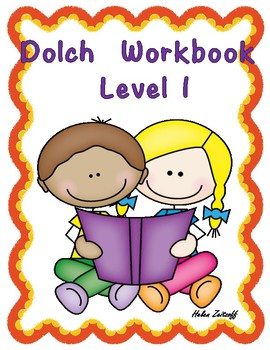 Practice Workbook for Dolch Level 1
