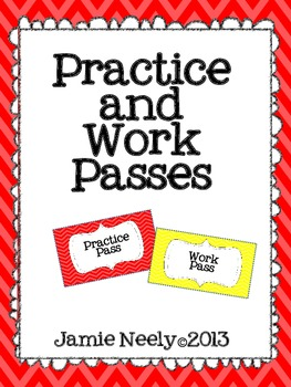 Practice and Work Passes