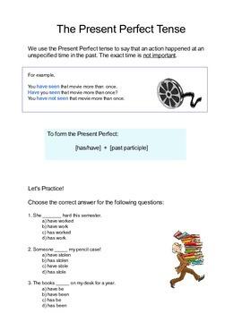 Practice the Present Perfect