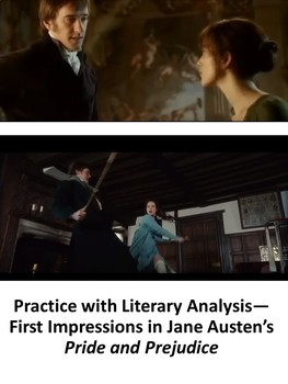 Practice with Analysis—First Impressions in Jane Austen's