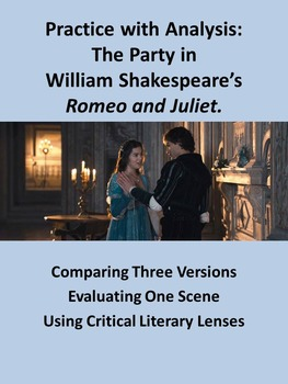 Practice with Analysis: The Party in William Shakespeare's