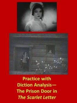 Practice with Diction Analysis— The Prison Door in The Sca