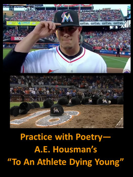 """Practice with Poetry— A.E. Housman's """"To An Athlete Dying Young"""""""