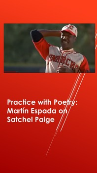 Practice with Poetry: Martín Espada on Satchel Paige