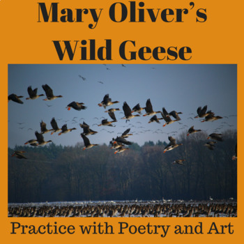 "Practice with Poetry: Mary Oliver's ""Wild Geese"""