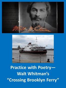 "Practice with Poetry— Walt Whitman's ""Crossing Brooklyn Ferry"""