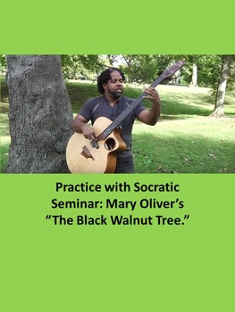 """Practice with Socratic Seminar: Mary Oliver's """"The Black W"""