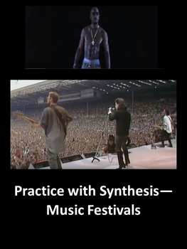 Practice with Synthesis— Music Festivals