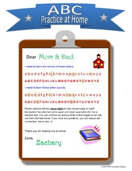 Practicing Letter Sounds at Home