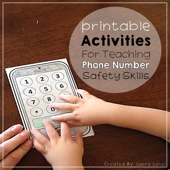 Phone Number Safety Skills Free