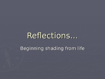 Practicing value:  Your reflection in a shiny sphere