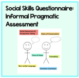 Pragmatic Language Questionnaire: Use for informal social