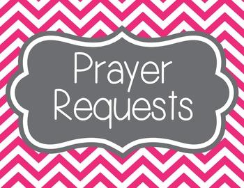 Prayer Requests, Chevron