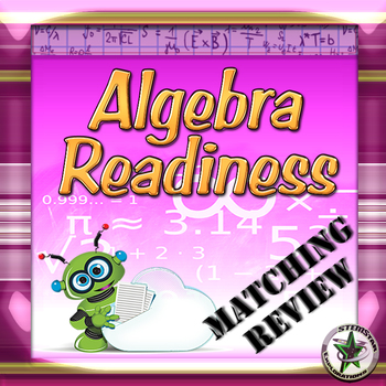 Pre Algebra Review: Back to School or End of Year