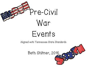 Pre-Civil War Events
