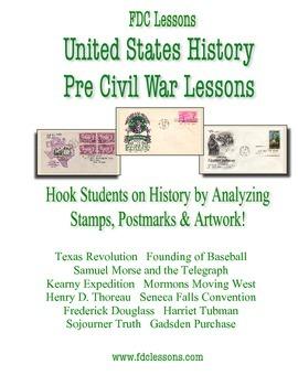 Pre Civil War U.S. History Warm Up/Review Lessons