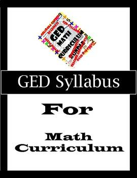 GED-ABE Syllabus for Math