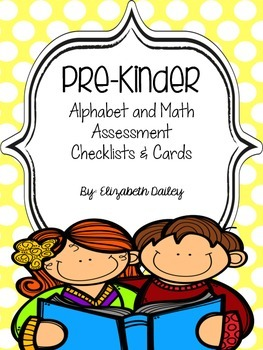 Pre-K Assessment Packet