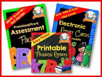 Pre-K Assessment Bundle