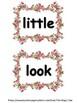 Pre-K & Kindergarten Sight Word Cards !