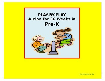 Pre-K Weekly Lesson Plans