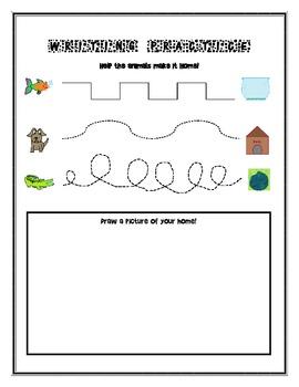 Pre-K and Kindergarten Writing Practice